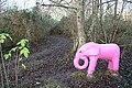 Pink Elephant - geograph.org.uk - 1092344.jpg