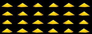 Pentagonal pyramid - Image: Pirâmide pentagonal