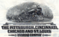 Pittsburgh, Cincinnati, Chicago, St. Louis Railroad bond, 1920, detail.png