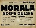 Plakat za predstavo Morala gospe Dulske v Narodnem gledališču v Mariboru 22. decembra 1929.jpg
