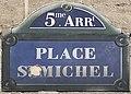 Plaque Place Saint Michel - Paris V (FR75) - 2021-07-28 - 1.jpg