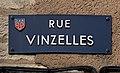 Plaque Rue Vinzelles - Mâcon (FR71) - 2020-12-22 - 1.jpg