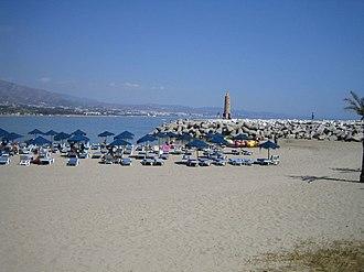 Puerto Banús - Beach of Puerto Banús