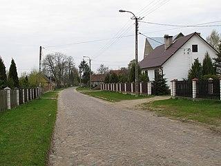 Baciuty Village in Podlaskie Voivodeship, Poland