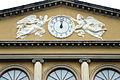 Poggio imperiale, facciata, orologio.JPG