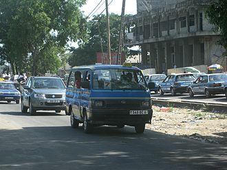 Pointe-Noire - Public transport in Point-Noire