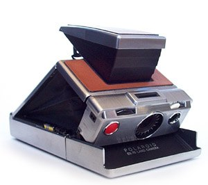 André Kertész - A SX-70 camera model similar to the one Kertész experimented with in the late 1970s and into the 1980s