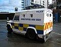 Police Land Rover, Belfast - geograph.org.uk - 1451374.jpg