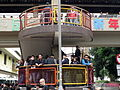 Police force stay at stairs 20150308.jpg