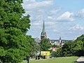 Polska Bydgoszcz - Widok wieży kościoła p.w Andrzeja Boboli.Widok na stare miasto - panoramio.jpg