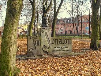 John Jonston - Monument to Jan Jonston, Leszno