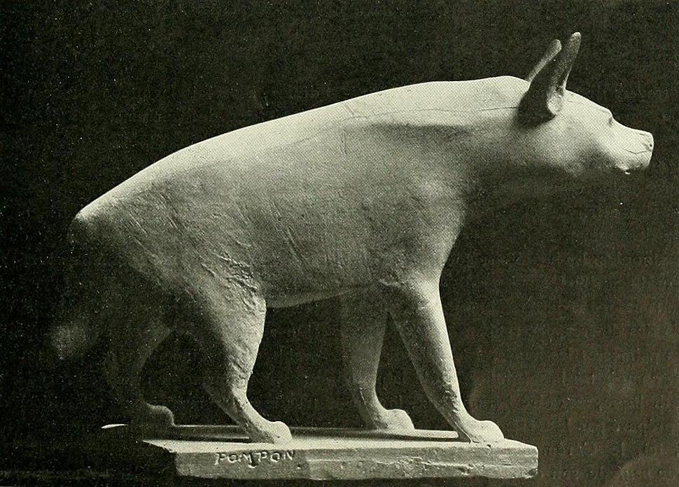 Pompon - Hyène