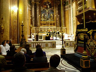 Requiem - Traditional Requiem Mass, Chiesa della Santissima Trinità dei Pellegrini, Rome (Church of the Most Holy Trinity of Pilgrims)