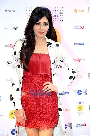 Pooja Chopra - Chopra promoting short film 'Ouch' at MAMI 18th Mumbai Film Festival in October 2016