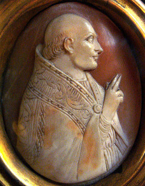 Pope Clement V - Cameo of Pope Clement V.
