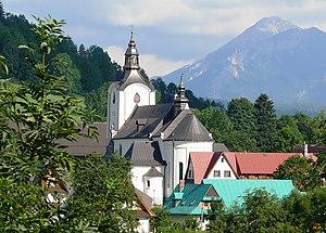 Poronin - Catholic church