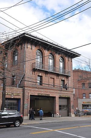 Port Chester, New York - Port Chester Fire Headquarters on Westchester Avenue