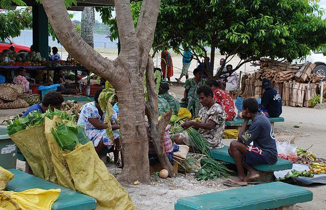 File:Port Vila market, Vanuatu