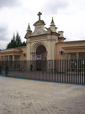 Central Cemetery of Bogotá - Image: Portada Cementerio