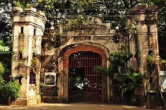 Puerto Princesa - Plaza Cuartel, the site of the infamous Palawan Massacre committed by the Imperial Japanese Army