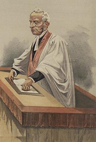 "Arthur Penrhyn Stanley - A caricature of Stanley in Vanity Fair, 1872. The caption was ""Philosophic Belief""."