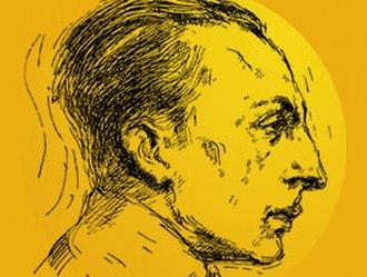 João Ameal - Portrait drawing of João Ameal