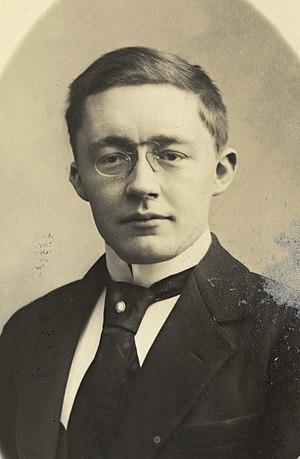 Sigurd Lie - Portrait of Sigurd Lie