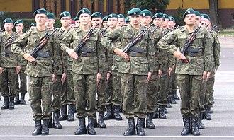 At attention - Image: Postawa.zasadnicza