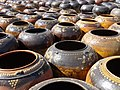 Pots for Sale - Outside Ananda Pahto - North Plain - Bagan (Pagan) - Myanmar (Burma) (12228298645).jpg