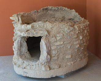 Ancient helladic stove from Eretria