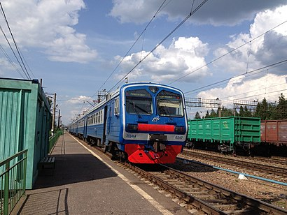 How to get to Поварово-3 with public transit - About the place