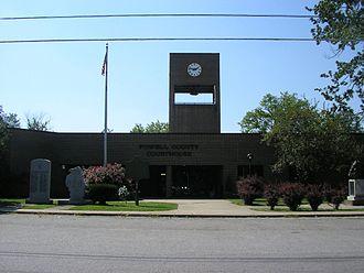 Powell County, Kentucky - Image: Powell County, Kentucky courthouse