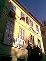 Praha, Staré Město, Jilská, Věda žije (T).jpg