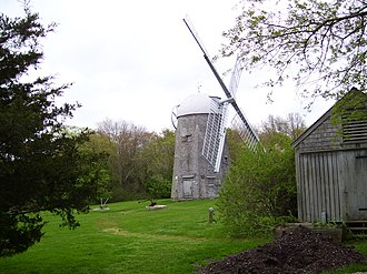 Middletown, Rhode Island - ca. 1811 windmill on Prescott Farm
