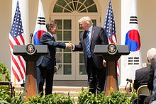 South KoreaUnited States relations  Wikipedia