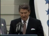 File:President Reagan's Remarks at Ceremony for Young Astronauts Program on South Lawn, October 17, 1984.webm