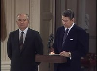 File:President Reagan and Mikhail Gorbachev's Remarks and Signing of the INF Treaty on December 8, 1987.webm