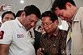 President Rodrigo Roa Duterte, Ghadzali Jaafar and Randolf Parcasio.jpg