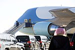 President and First Lady Obama Disembark From Air Force One Upon Arriving in Riyadh.jpg