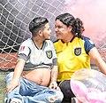 Primer hombre trans ecuatoriano Zack logra embarazarce de esposa Diane Rodriguez - First Ecuadorian trans man Zack Elías gets pregnant with his wife HD.jpg