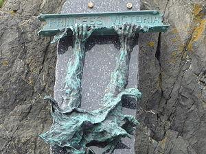 MV Princess Victoria - Memorial in Portpatrick