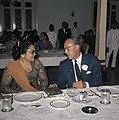 Prins Bernhard met mevrouw Soeharto aan de lunch in Yogyakarta, Bestanddeelnr 254-9035.jpg