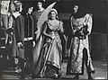 Prinses Irene vervult haar rol als Hertogin van Orleans in het lustrumspel Fran, Bestanddeelnr 021-0522.jpg