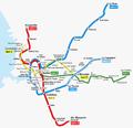 Projet metro tramways 2009.png