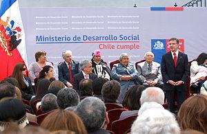 Ministerio de desarrollo social chile wikipedia la for Oficina nacional de deportes