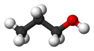 1-Propanol Primary alcohol compound