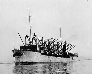 USS Proteus (AC-9) - USS Proteus