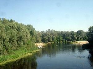 Hadiach - Image: Psel river (in Hadiach)