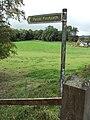 Public footpath, Gwernymynydd 3.JPG