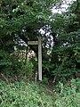 Public footpath - geograph.org.uk - 957278.jpg